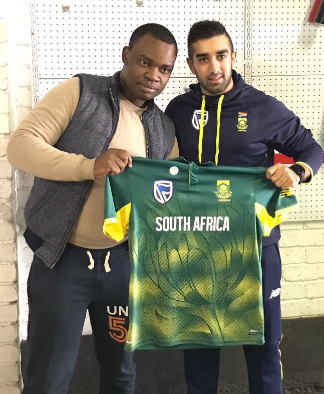 Proteas Jersey for the Champions Trophy