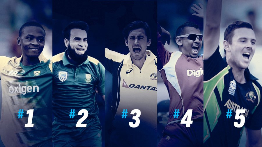 Top Five ICC One day Bowlers