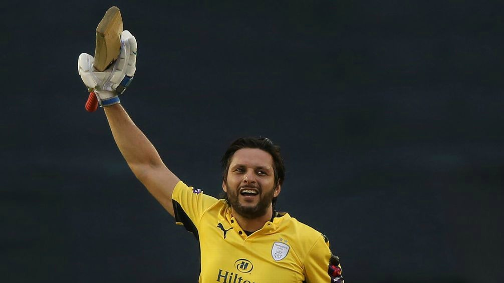 Afridi Maiden T-20 Hundred