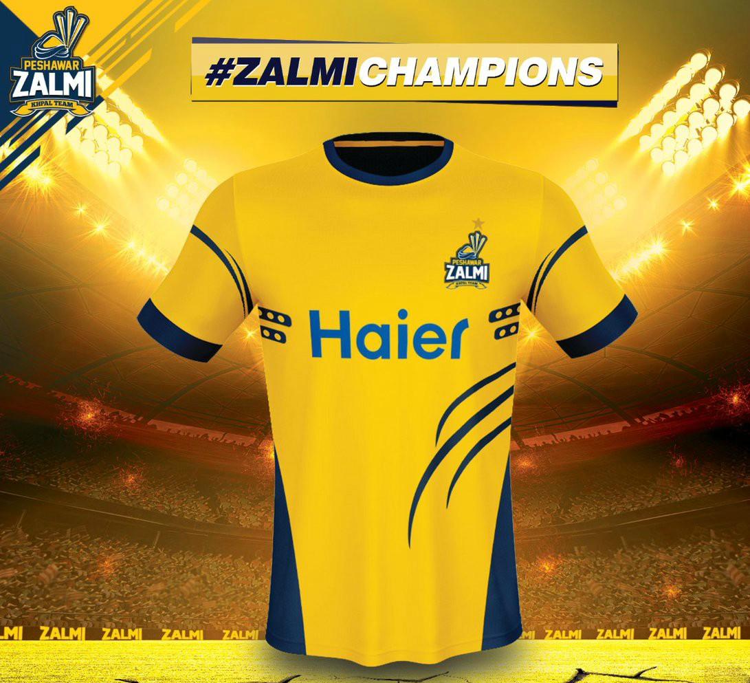 Peshawar Zalmi Jersey-2018