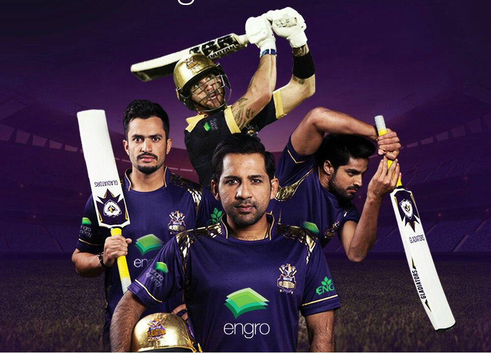 Quetta Gladiators new Kit-2018