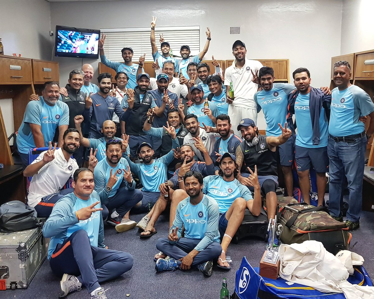 Victorious Indian Team