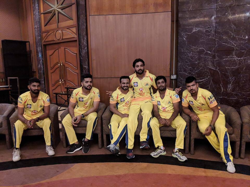 New Chennai IPL Kit-2018