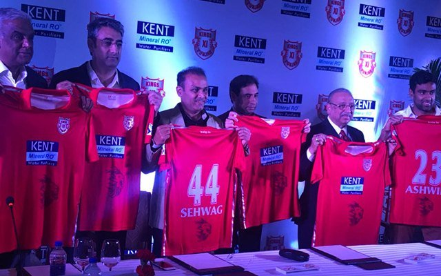 New Kings XI Punjab Kit-2018