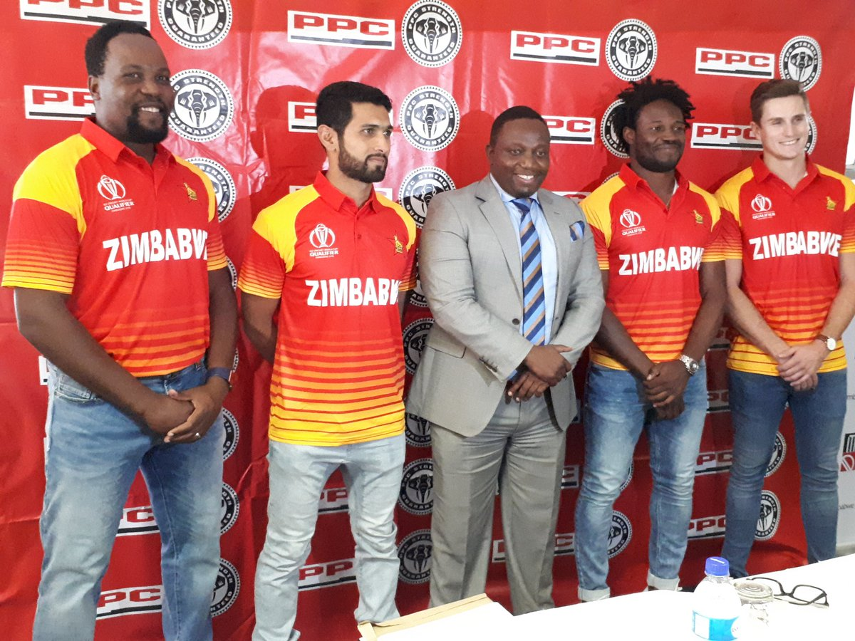 New Zimbabwe Cricket Jersey 2018