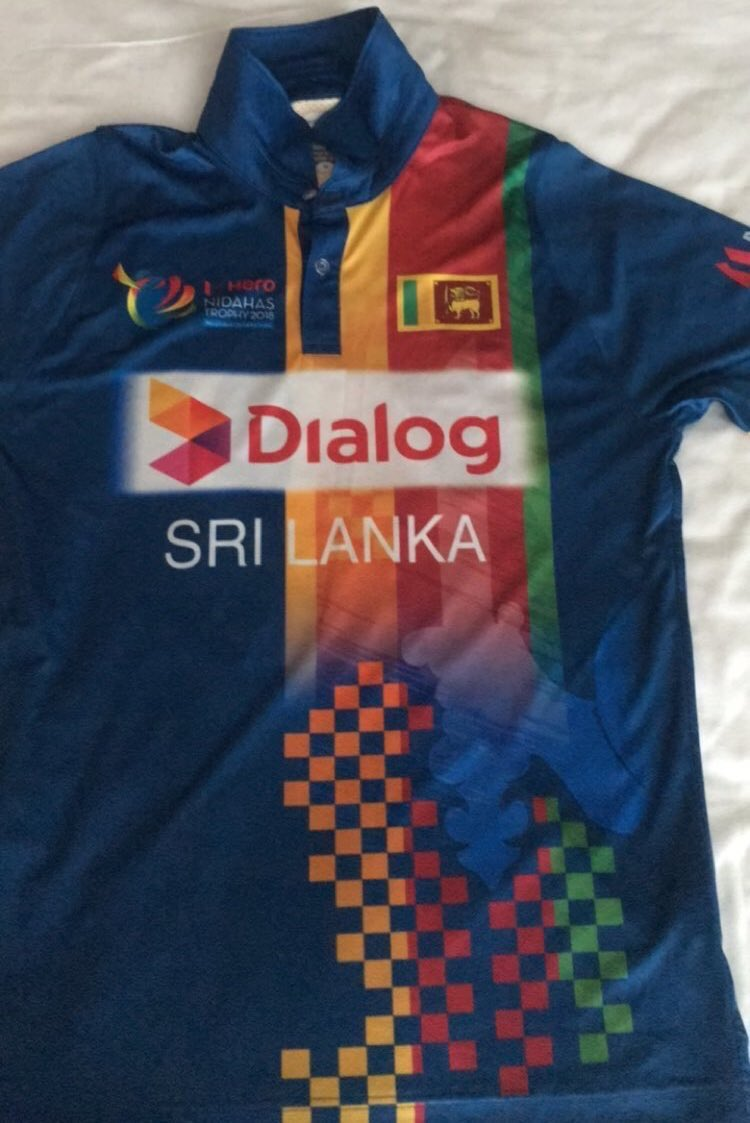 Sri Lanka New Cricket Jersey- Nidhas Trophy 2018