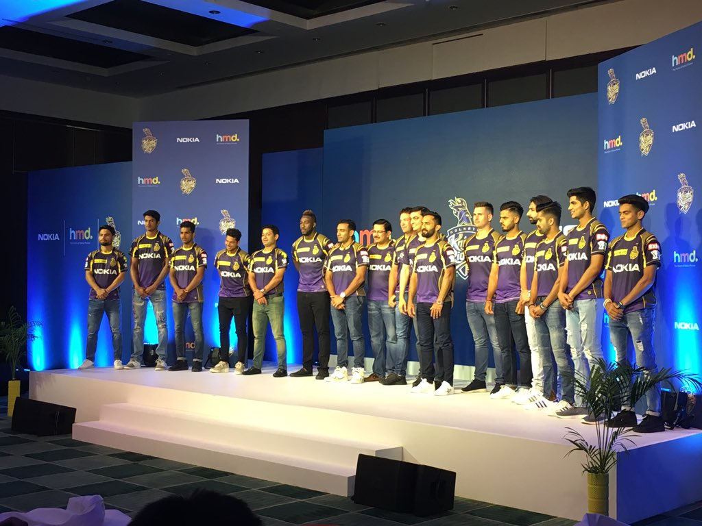 New Kolkata Knight Riders Jersey-2018