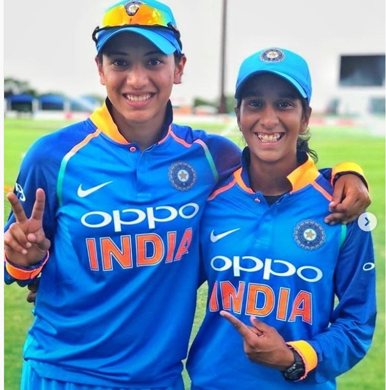 Smriti Mandhana and Jemimah Rodrigues