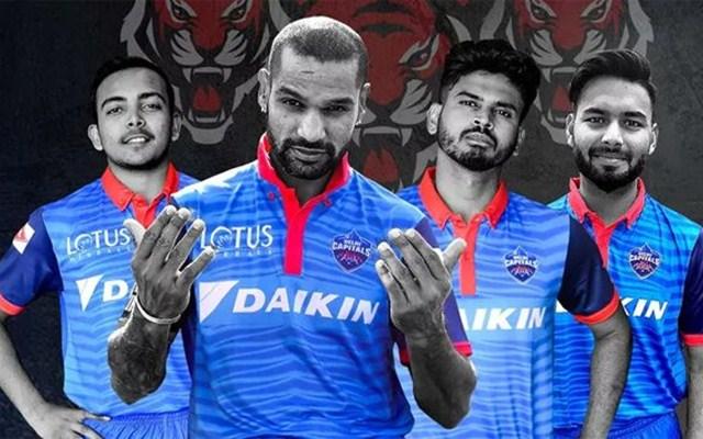 New Delhi Capital Jersey IPL 2019