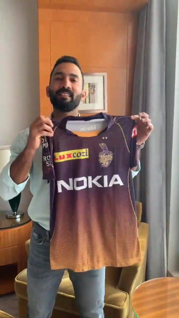 New Kolkata Knight Riders Jersey-2019