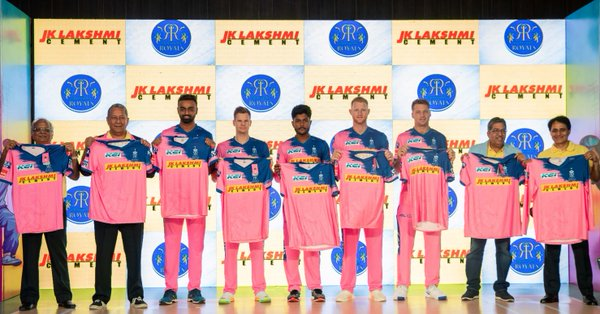 New Rajasthan Royals Kit-2019