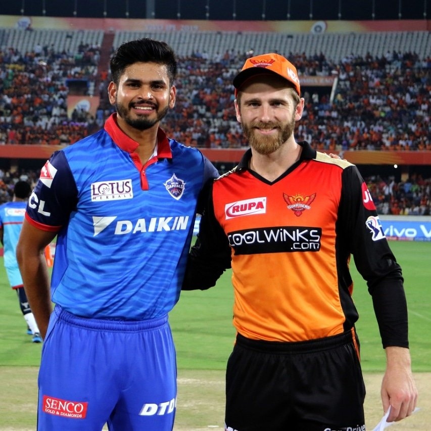 Delhi Capitals vs Sunrisers Hyderabad-2019