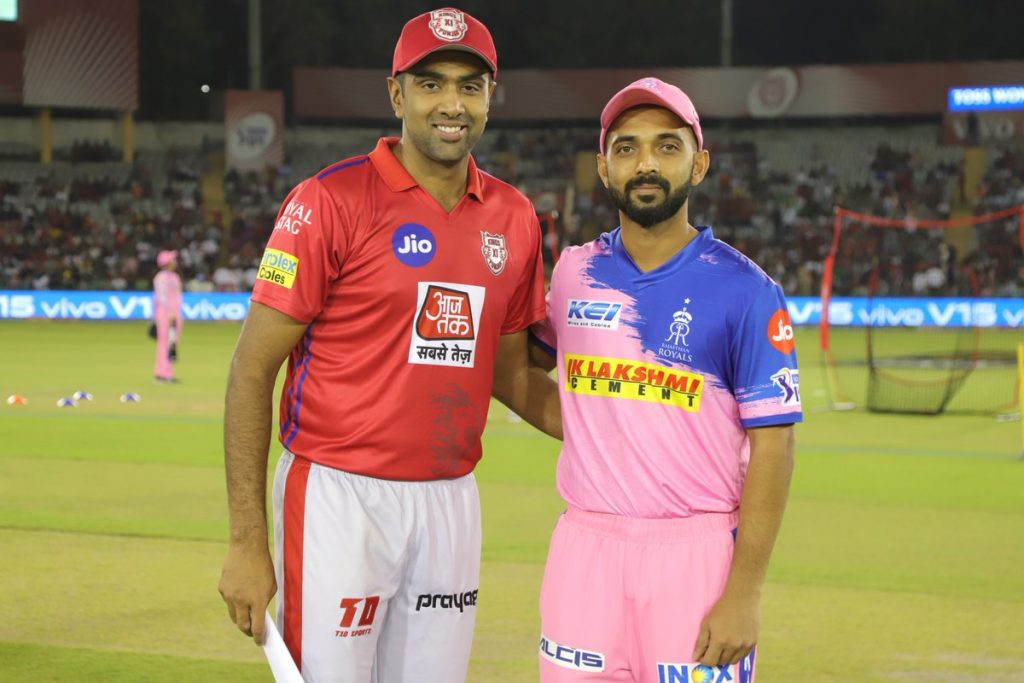 Kings xi punjab vs Rajasthan Royals-2019