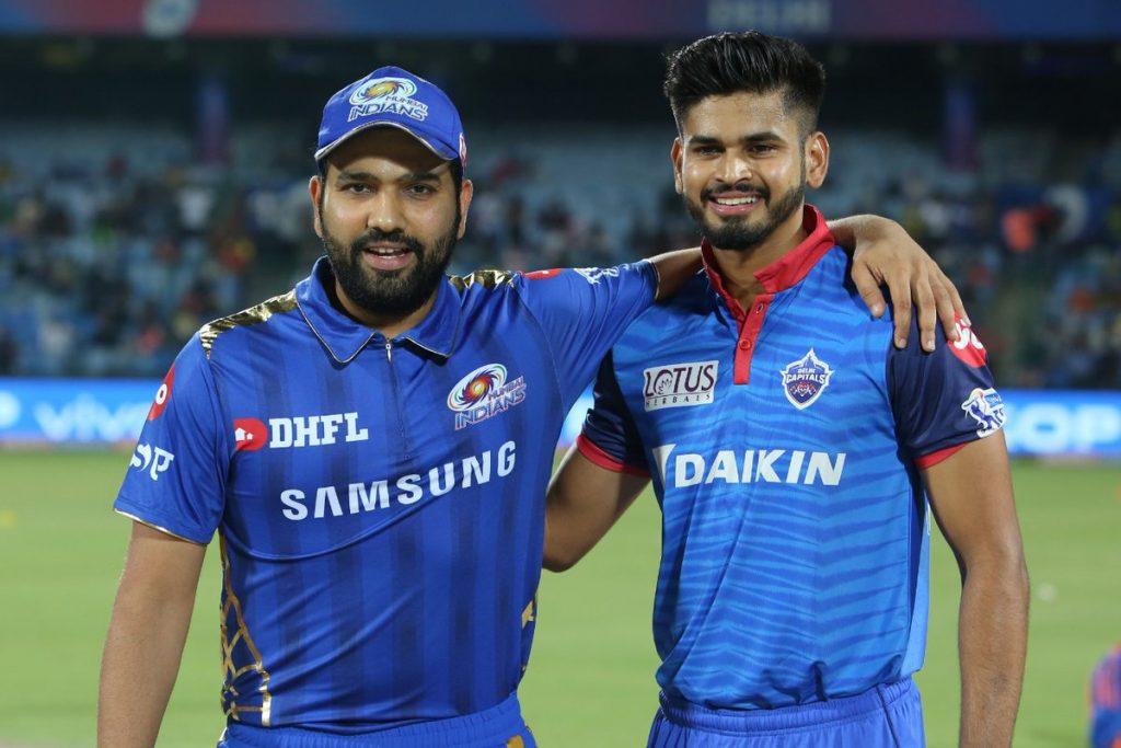 Mumbai Indians vs Delhi Capitals-2019