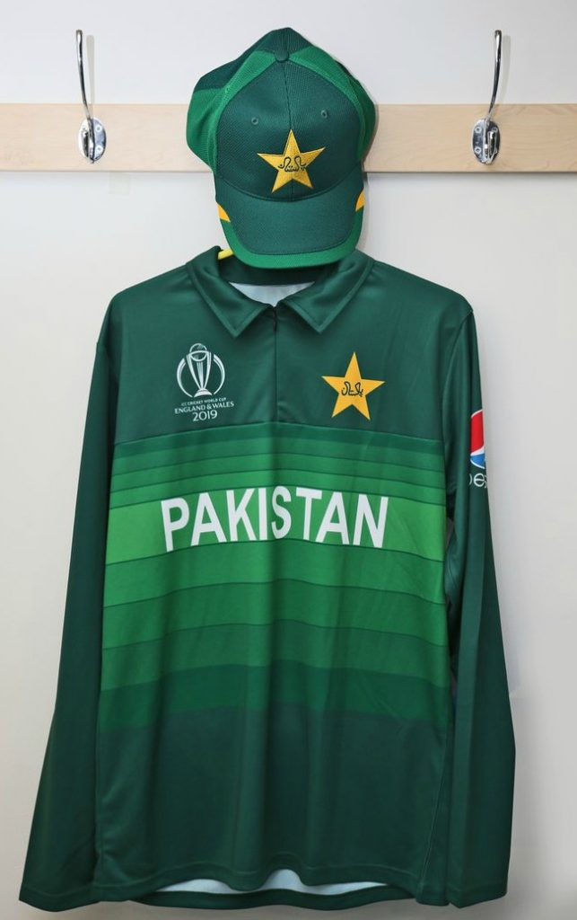 New Pakistan World Cup 2019 Shirt