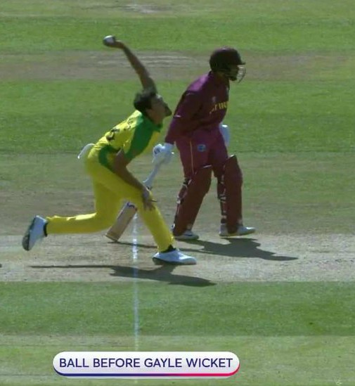 Starc No Ball vs West Indies 2019 Not Called