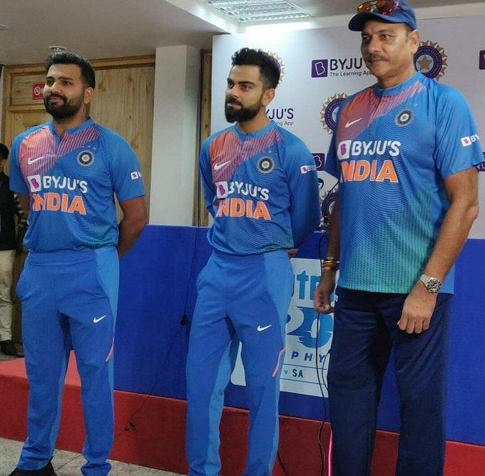 Byju's Indian Team Sponsor-2019