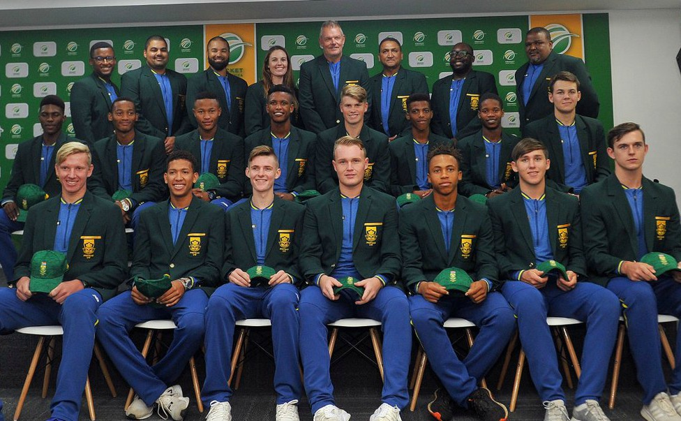 South Africa 2020 U19 World Cup Squad