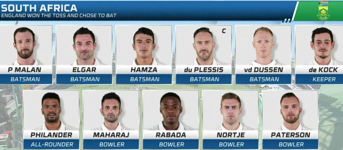 sa cricket team v england pe 2020