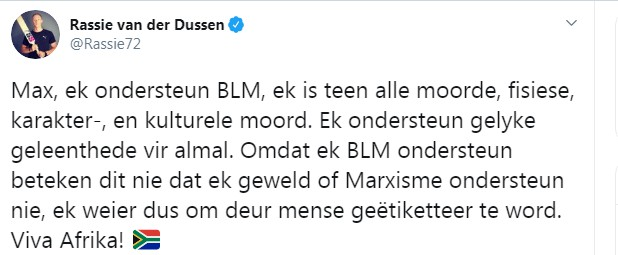 Rassie Van der Dussen