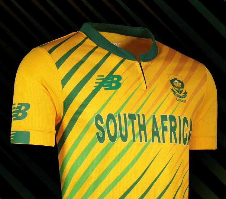 New SA T20 Shirt 2020 21