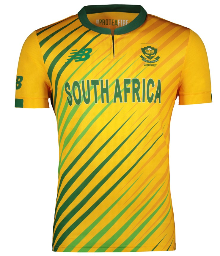New South Africa T20 Jersey 2020 2021