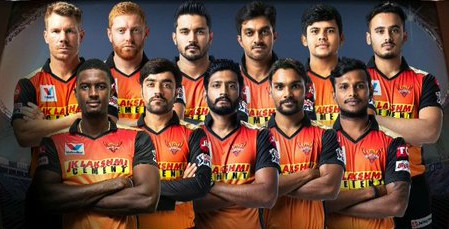 Sunrisers line up vs Kings XI Punjab