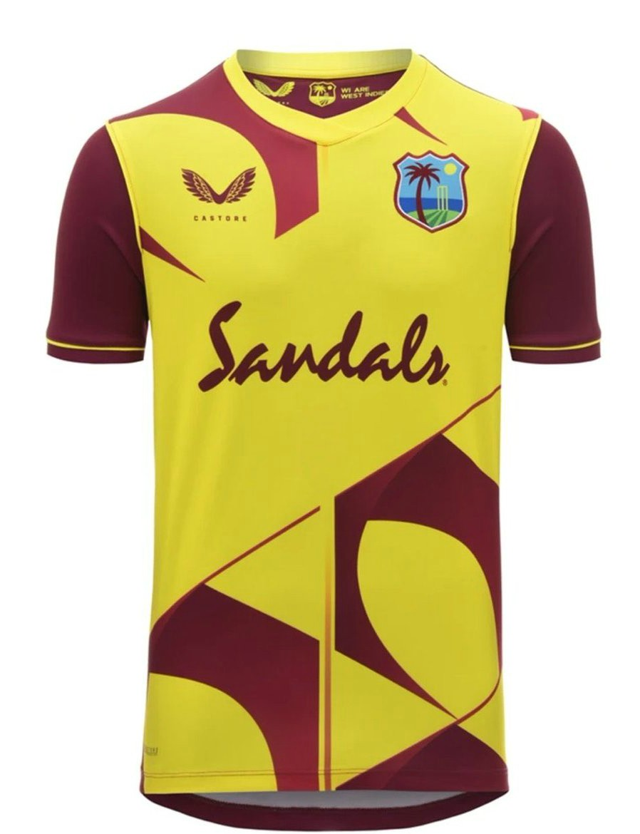 New WI T-20 Cricket Jersey 2020-21