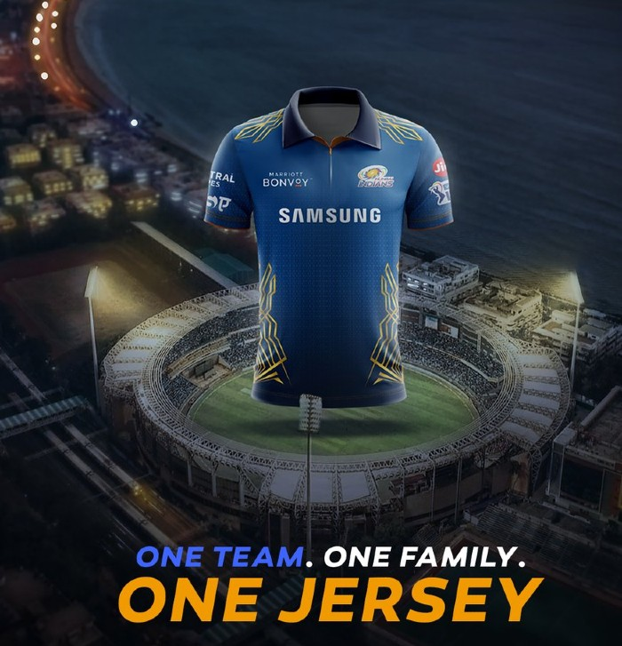 New Mumbai Indians IPL Shirt 2021