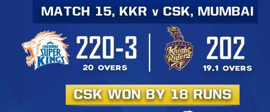 Chennai Super Kings vs Kolkata Knight Riders Scorecard (1)