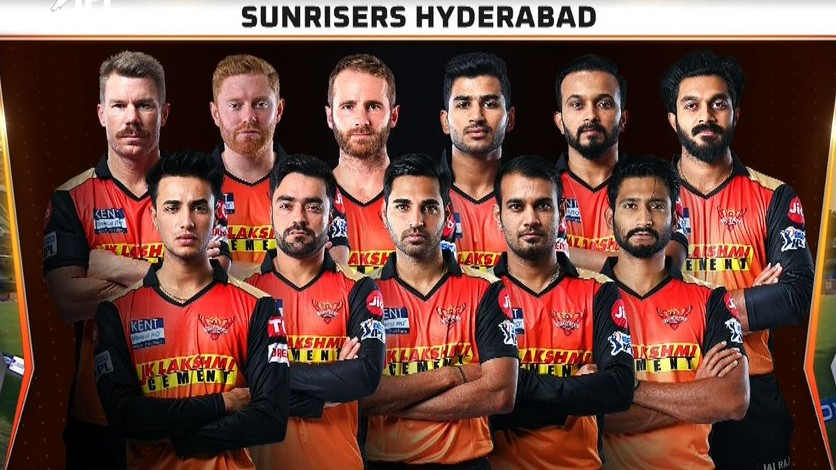 Sunrisers line up vs Punjab (1)