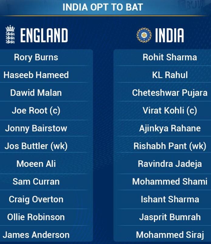 India vs England Third Test Lineups Headingley 2021