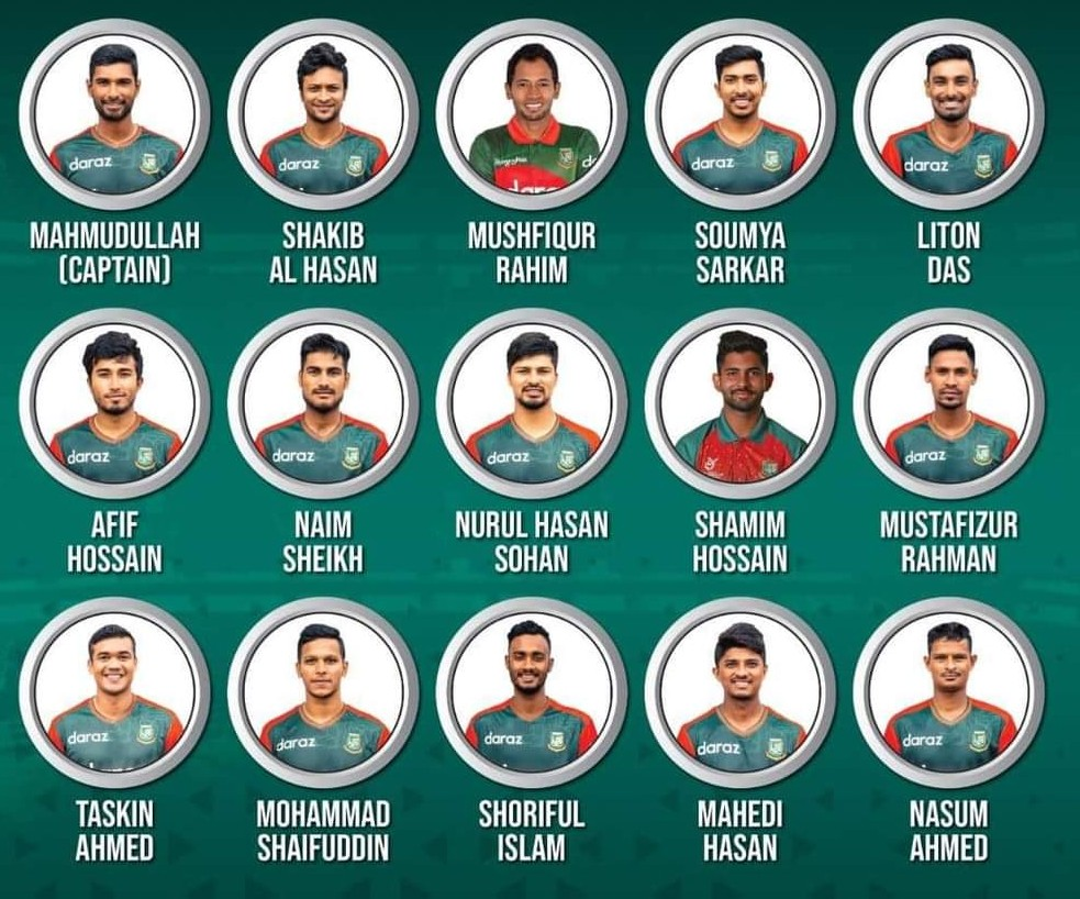 Bangladesh Squad for T-20 World Cup 2021 (1)