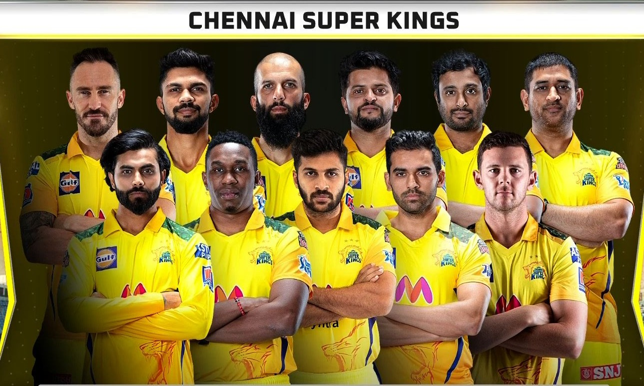 Chennai Super Kings line up vs Mumbai Indians IPL 2021 (1)