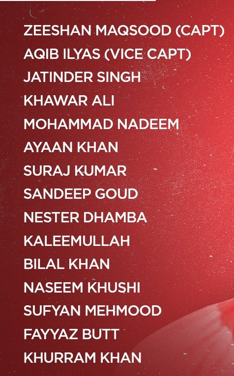 Oman Squad for T-20 World Cup 2021 (1)