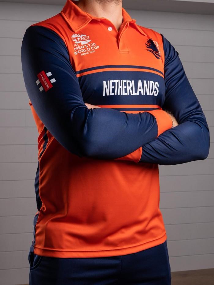 Gray Nicolls Holland Cricket Shirt 2021 T20 World Cup