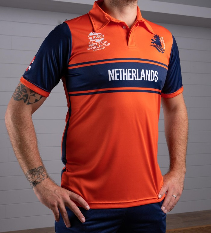 New Netherlands T20 World Cup Jersey 2021