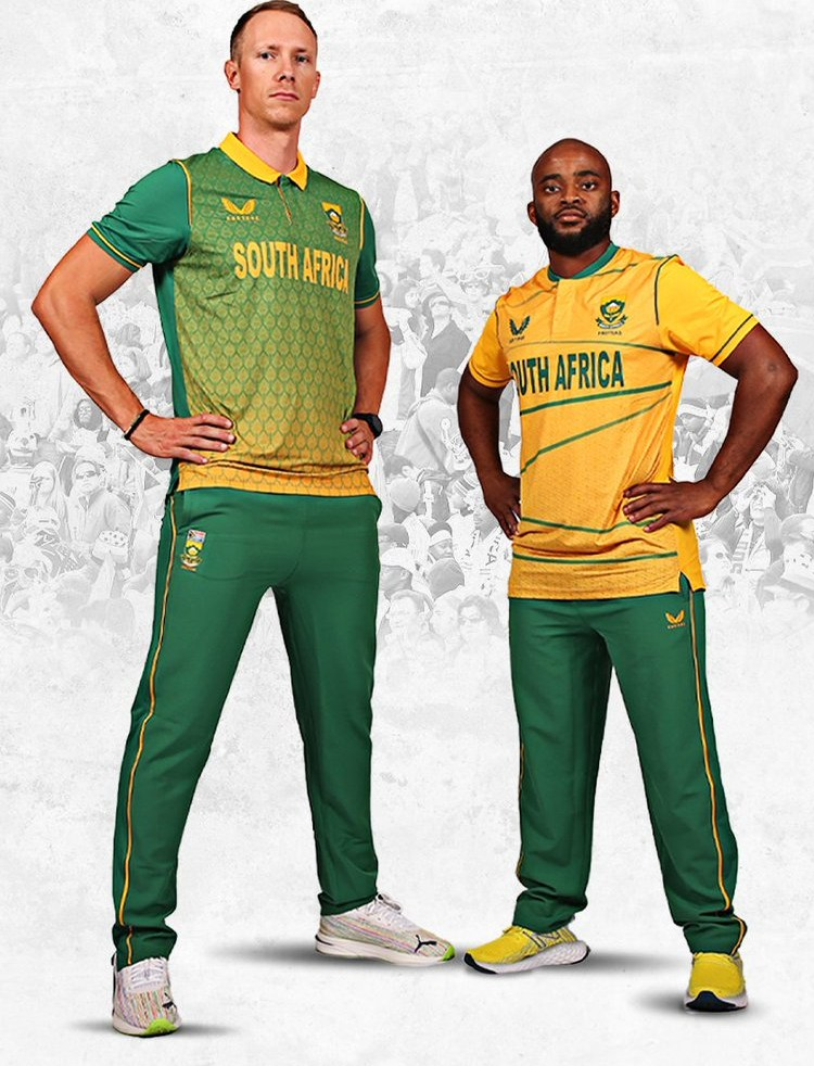 New South Africa Castore Cricket Jersey 2021 2022